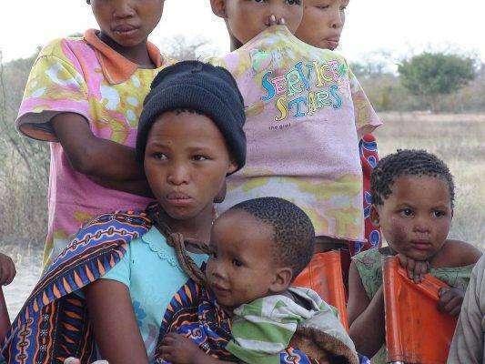 التّركيبة السّكّانيّة في دولة ناميبيا