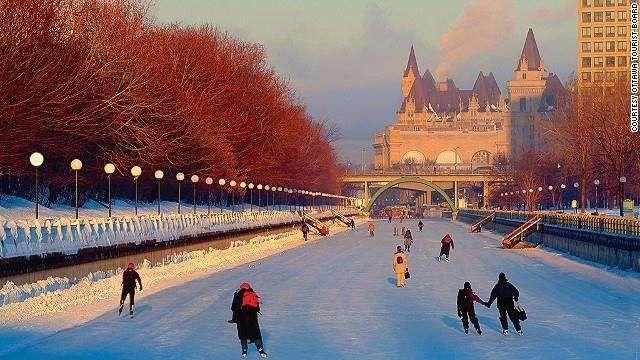 السياحة الشتوية في هولندا