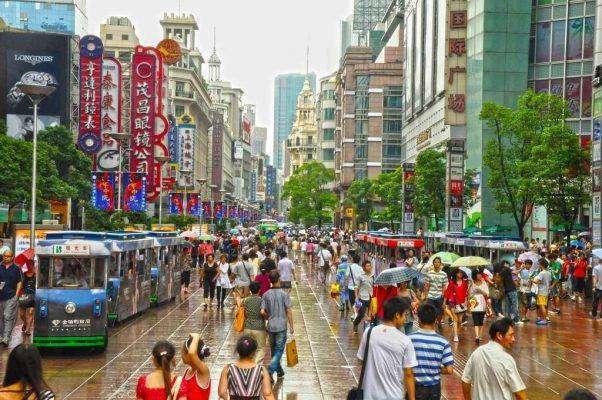 الكثافة السّكّانيّة في دولة الصين