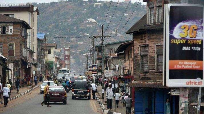 النّموّ السّكّانيّ في دولة سيراليون