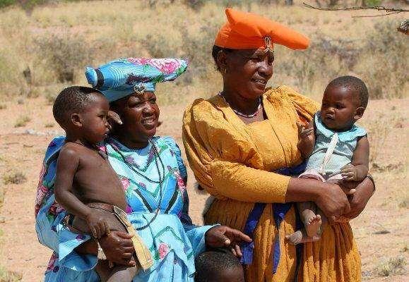الهرم العمريُّ للسّكّان في ناميبيا