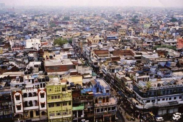 توزيع السّكّان في أكبر مدينتين هنديّتين