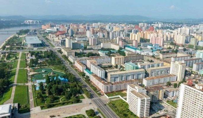 توزيع السّكّان في المدن الكوريّة الشّماليّة