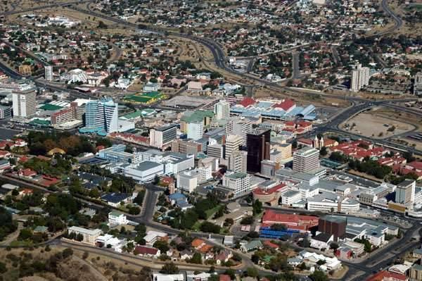 توزيع السّكّان في المدن النّاميبيّة