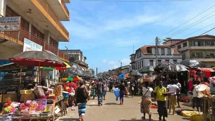توزيع السّكّان في المدن في سيراليون