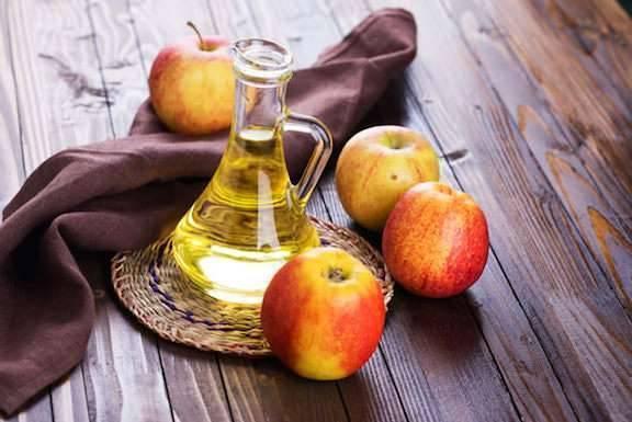 فوائد غسل الجسم بخل التفاح