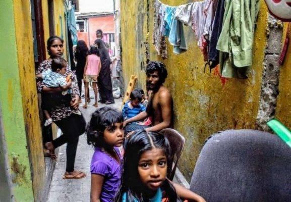 عدد السّكّان في جُزرِ المالديف