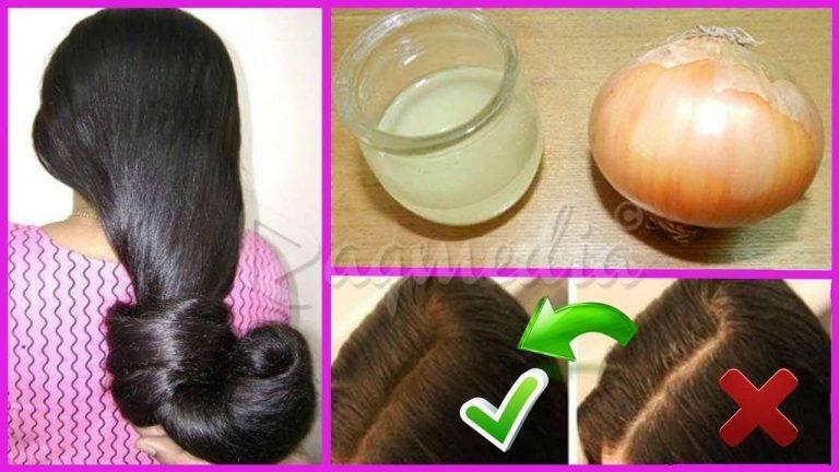 فوائد غسل الشعر بماء البصل