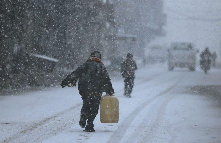الشتاء في سوريا