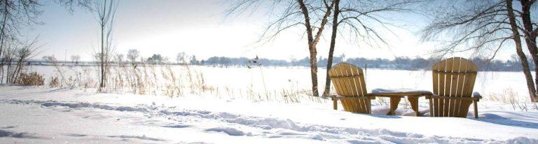 فصل الشتاء في مدينة ماديسون ولاية ويسكونسن