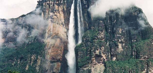 أعلى شلال في العالم ..