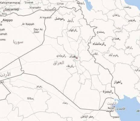 مساحة دولة العراق وكثافتها السّكّانيّة