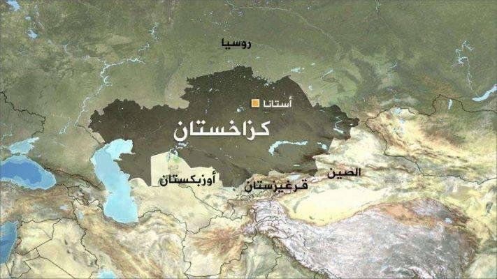 مساحة دولة كازاخستان وكثافتها السّكّانيّة