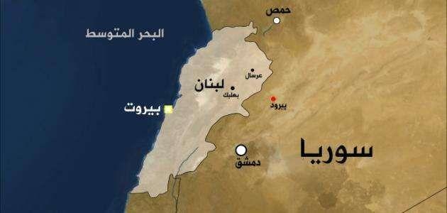 مساحة دولة لبنان وكثافته السّكّانيّة