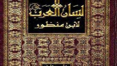 صورة نبذة عن كتاب لسان العرب