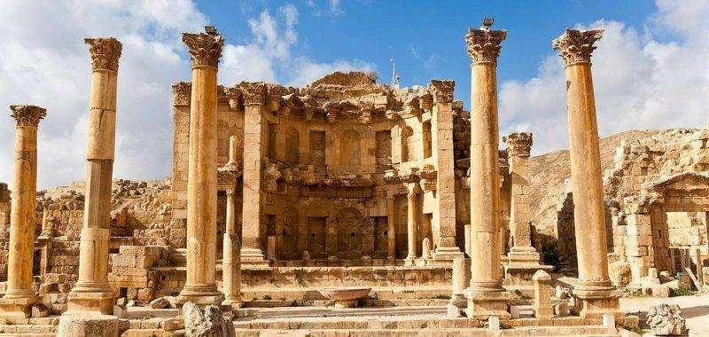 نهاية تاريخ الرومان في الاردن