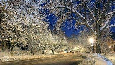 Photo of فصل الشتاء في مدينة روتشستر ولاية نيويورك