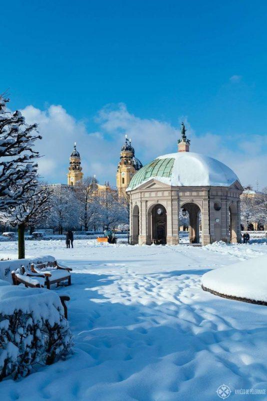 السياحة الشتوية في ميونخ