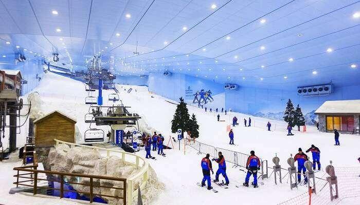 السياحة الشتوية في دبي