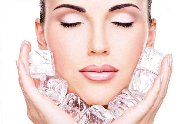 فوائد غسل الوجه بالماء البارد
