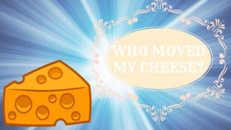 نبذة عن كتاب من حركه قطعة الجبن الخاصة بي