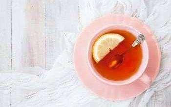صورة فوائد الليمون الاسود مع الشاي