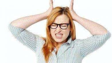 صورة أعراض صداع التوتر