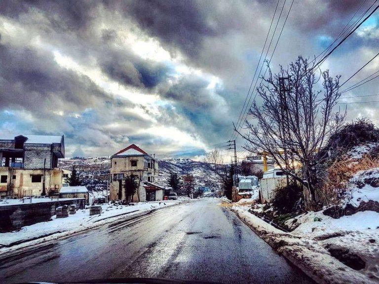 السياحة الشتوية في لبنان