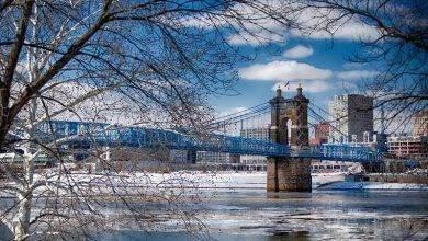 Photo of فصل الشتاء في مدينة سينسيناتي ولاية أوهايو