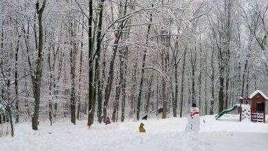 Photo of فصل الشتاء في مدينة أكرون ولاية أوهايو