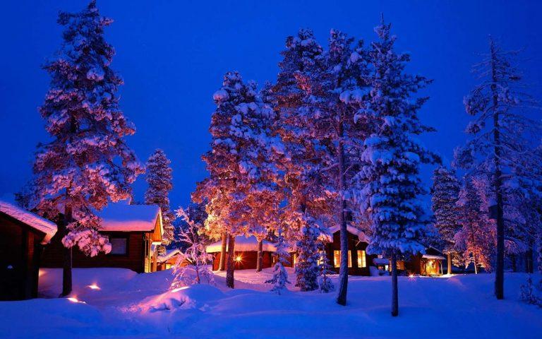 السياحة الشتوية في السويد