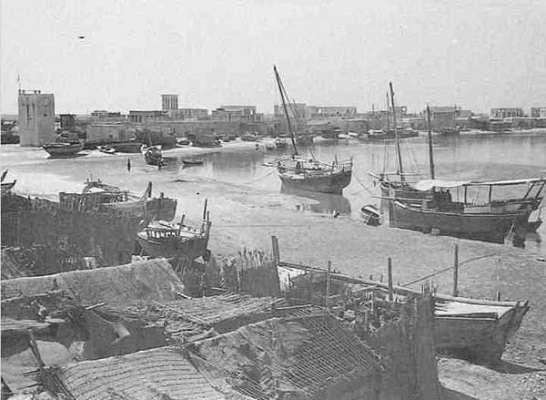 تاريخ مدينة دبي منذ القرن الثّامن عشر وحتّى العشرين