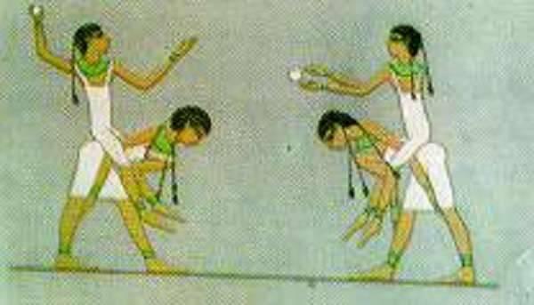 كرة اليد عند المصريين القدماء