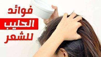 صورة فوائد غسل الشعر بالحليب
