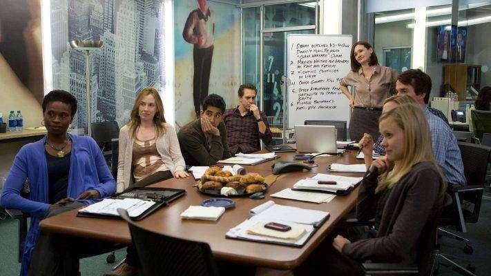 قصة مسلسل newsroom الأمريكي