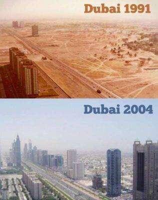 ملخّص لتاريخ مدينة دبي