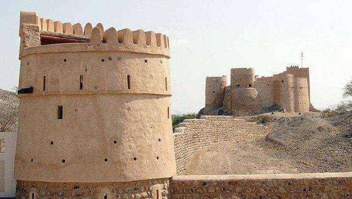 هندسة قلعة الفجيرة