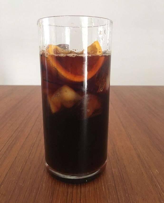 وصفة القهوة الباردة بالبرتقال
