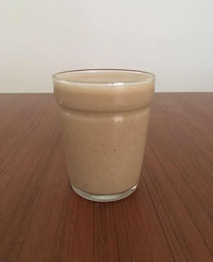 وصفة القهوة الباردة بالموز