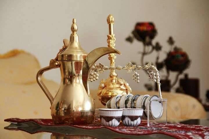 طريقة عمل القهوة العربية الجاهزة