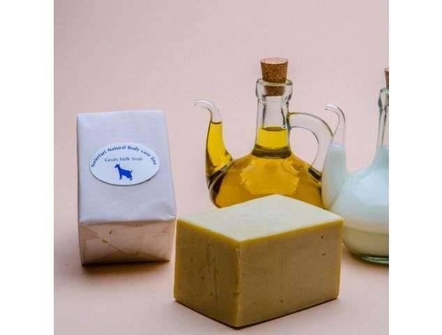 وصفات صابون حليب الماعز للجسم