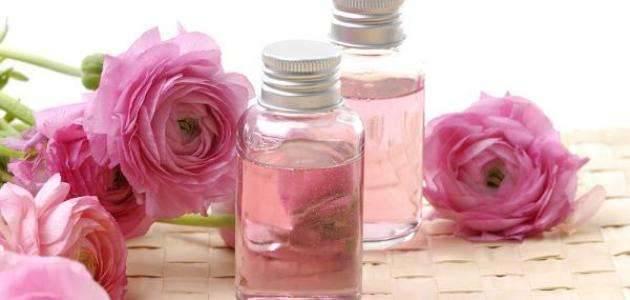 فوائد غسول ماء الورد