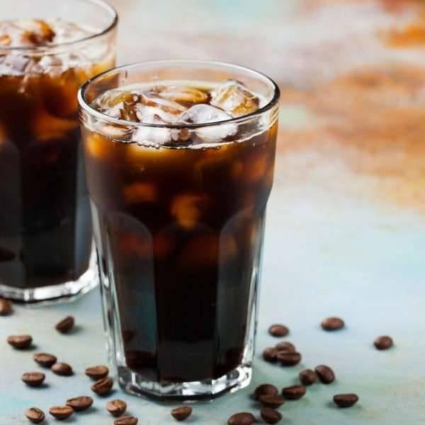 وصفة القهوة الباردة العادية