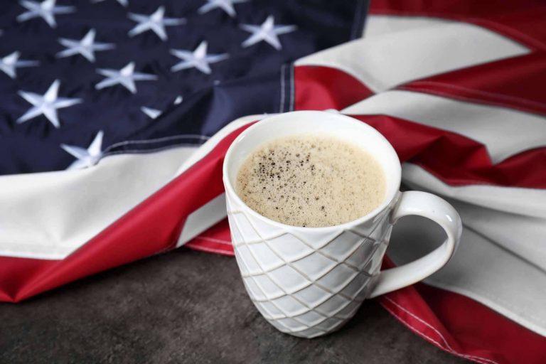 طريقة عمل القهوة الامريكية