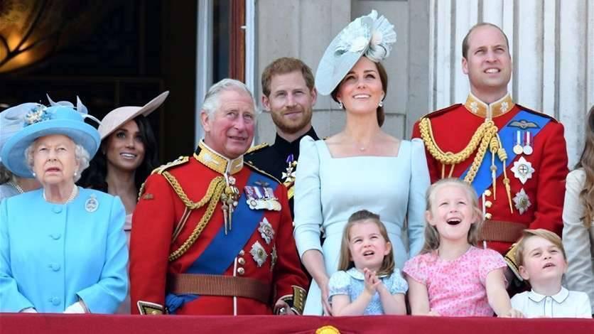 أحفاد الملكة إليزابيث