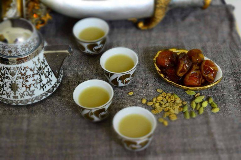 تحضير القهوة العربية الجاهزة