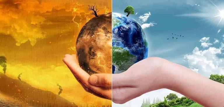 مقال عن الاحتباس الحراري