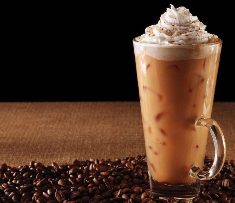 وصفة القهوة الباردة بالكريمة