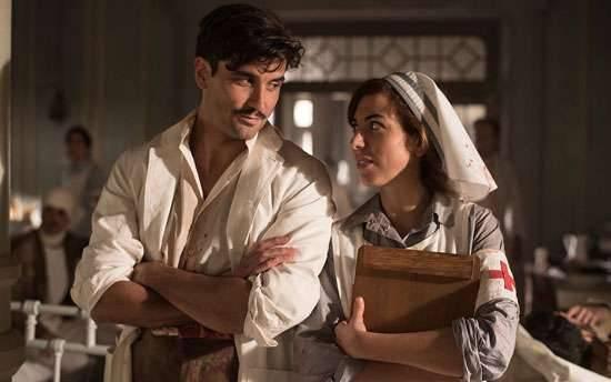 معلومات عن مسلسل morocco love in times of war ..
