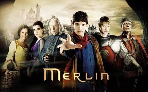 قصة مسلسل merlin البريطانى